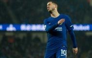 Hazard tự chỉ trích bản thân trước trận gặp Southampton