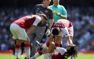 Ai Cập thở phào với chấn thương của sao Arsenal