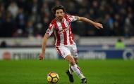Củng cố lực lượng, tân binh Premier League nhắm sao Stoke City