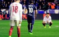 Tự bắn vào chân, Sevilla làm khó mình trong cuộc đua vô địch