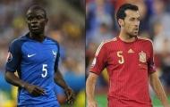 Điểm nóng đại chiến Pháp vs Tây Ban Nha: Tâm điểm Kante - Busquets
