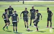 AC Milan tập luyện cật lực trước derby