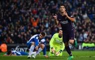 Được 'biếu không' 2 bàn, Luis Suarez khiến Espanyol ôm hận trên sân nhà