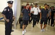 Messi và đồng đội đặt chân đến đất Mỹ