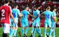 Alcacer lập siêu phẩm đá phạt, Barca vất vả cầm hòa đội hạng hai