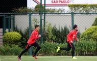 Sanchez tập luyện cật lực cho 'trận sống mái' với Brazil