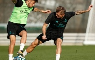 Toni Kroos trở lại tập luyện