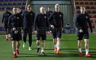 Barca tập thêm vào ban đêm trước thềm đại chiến với Sevilla