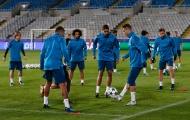 Ronaldo và đồng đội tập luyện trên đảo Síp