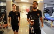 Luis Suarez làm 'hướng dẫn viên' cho Coutinho