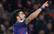 Suarez lập hat-trick, Barca chơi tennis trên sân nhà