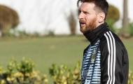 Messi xuất hiện cực ngầu trong trại tập luyện của Argentina