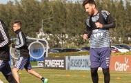 Vì chức vô địch, Messi tập luyện cật lực cùng Argentina