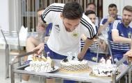Đội tuyển Argentina tổ chức sinh nhật cho Lionel Messi