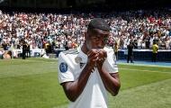 Toàn cảnh buổi lễ ra mắt của 'Neymar mới' tại Bernabeu