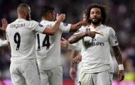 Marcelo lập siêu phẩm, Real nhọc nhằn cắt đứt chuỗi 3 trận toàn thua