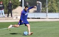 Tập luyện dưới nắng gắt, Atletico quyết tâm trả đủ món nợ thảm bại 0-4