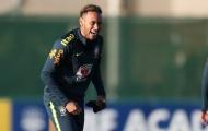 Neymar cười khoái trá trong ngày trở lại đội tuyển