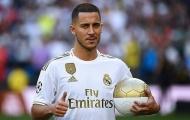 SỐC: Tiết lộ số áo của Hazard tại Real, không phải số 7