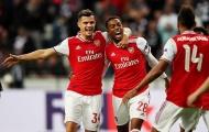 5 điểm nhấn Frankfurt 0-3 Arsenal: Thắng trong âu lo; Sân khấu của 'hiện tượng'