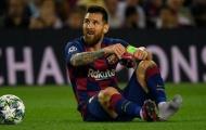 Barca mất Messi tại Champions League nếu đụng độ các đội bóng Anh