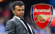 Luis Enrique mới là phương án phù hợp với chiếc ghế nóng của Arsenal