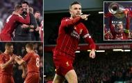 Jordan Henderson - 'Cầu thủ xuất sắc nhất năm', tại sao không?