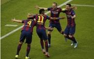 Thống kê: Cúi đầu trước Iniesta