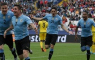 Uruguay 1–0 Jamaica: Ra quân nhọc nhằn