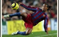 Những pha đi bóng không thể bắt chước của Ronaldinho
