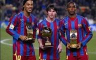 Ronaldinho và Eto'o sắp tái hợp