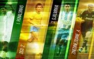 Ronaldo chọn đội hình 5 người: Cái lên lạ Djalminha