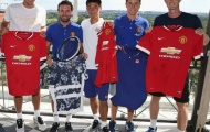 Juan Mata, Herrera 'so tài' với sao quần vợt