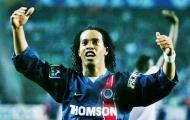 Ronaldinho và kỹ thuật điêu luyện khi còn trẻ