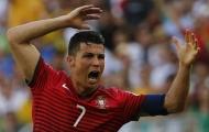 Tình huống Nani cướp bàn thắng của Ronaldo được tái hiện