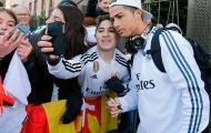 Thủ môn vô danh cưa đổ bồ cũ Cris Ronaldo
