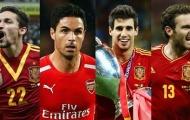 Những tiền vệ không gặp thời trong màu áo La Roja