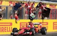 Vettel vô địch Hungarian GP trong chặng đua nhiều biến cố