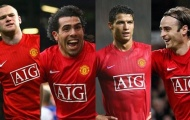 Ba bộ tứ nổi tiếng của Man United giai đoạn Premier League
