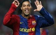 Khi Ronaldinho vượt mặt các ngôi sao nổi tiếng