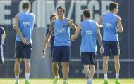 Dàn sao Barcelona tập luyện, mơ ngược dòng trước Athletic