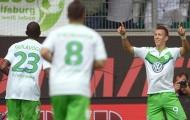 """Vòng 1 Bundesliga: Wolfsburg nhọc nhằn """"sống sót"""" trước Frankfurt"""