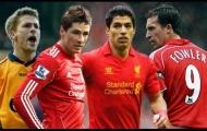 10 tiền đạo xuất sắc nhất Liverpool trong kỉ nguyên Premier League