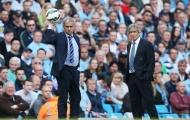 Khuôn mặt tội nghiệp của Mourinho trong trận gặp Man City