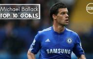 10 bàn thắng đẹp của Michael Ballack cho Chelsea