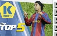 Top 5 ngôi sao không thi đấu ở Premier League