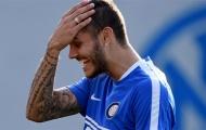 Icardi cười ngả nghiêng trước ngày khai mạc Serie A