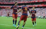 Ath. Bilbao 0-1 Barcelona (Vòng 1 La Liga)