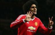 Marouane Fellaini tự tin có thể ghi bàn giúp Rooney