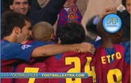 Pha xử lý siêu đẳng của Ronaldinho vs AC Milan